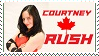 Courtney Rush Stamp by Charlierock2