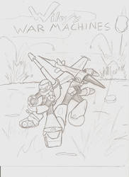 Wiley's War Machines by nekomaruchan