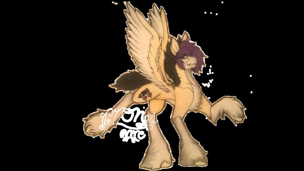 A Pone I Keep Drawing by ImagineThingsOrNot