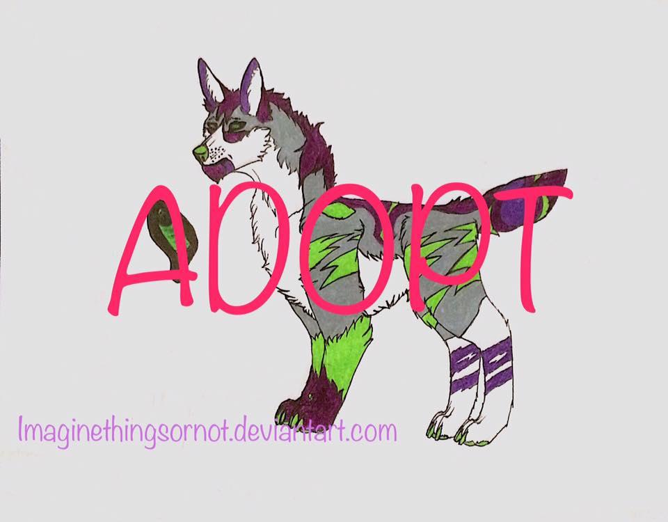 Adopt:  No name wolfers by ImagineThingsOrNot