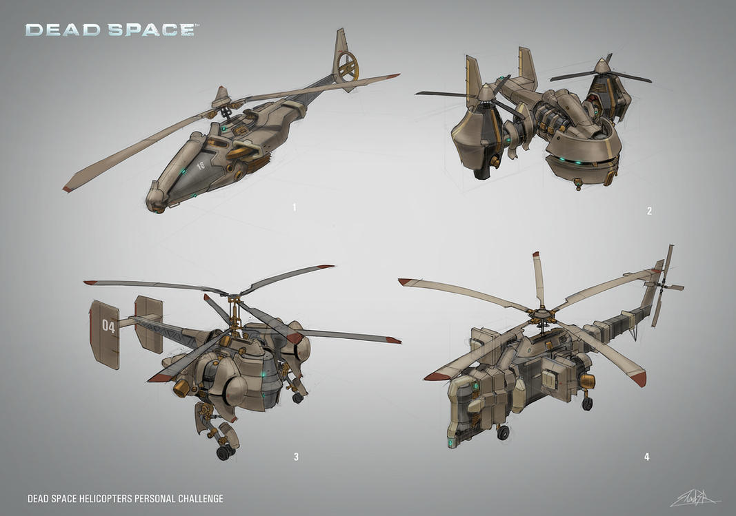 Dead Space Helicopters by Shad3R