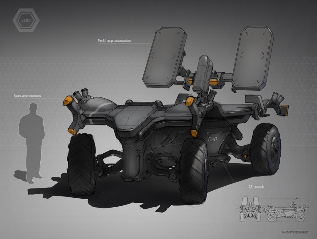 Armored Vehicle by Shad3R