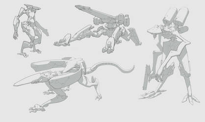 Sketches by Shad3R