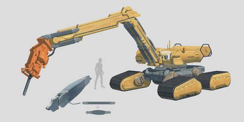 Excavator by Shad3R