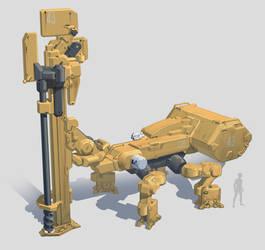 Drill Rig by Shad3R