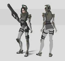 Stormtrooper Girl