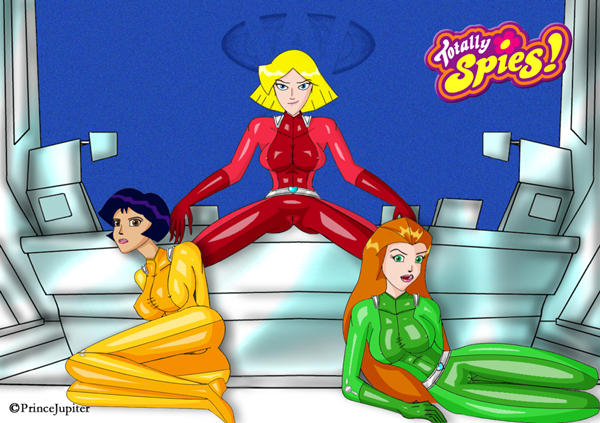 Totally Spies by PrinceJupiter