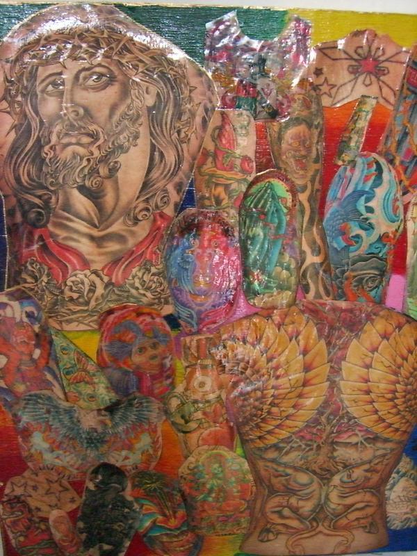 Tattoo collage by ~headlessrider on deviantART