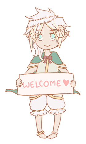 Welcome by Dimitri by LizzyBubbletea