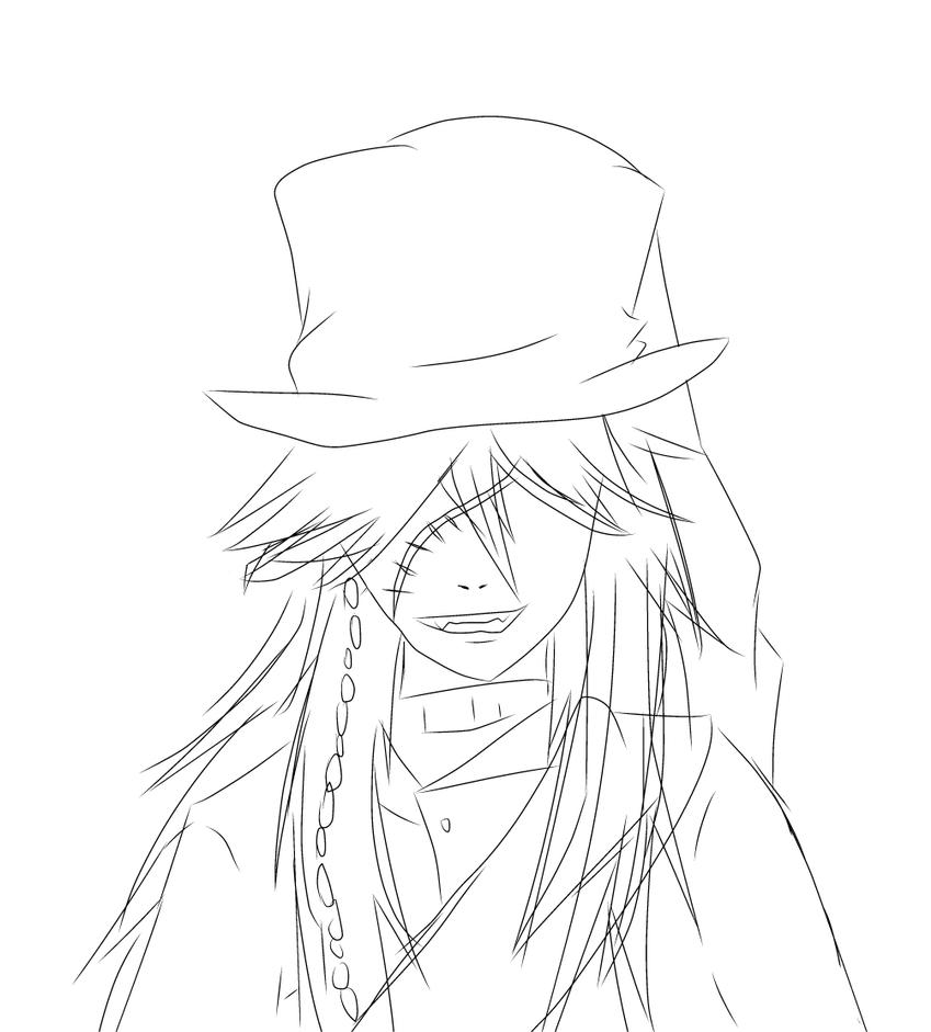 the gallery for undertaker black butler coloring pages