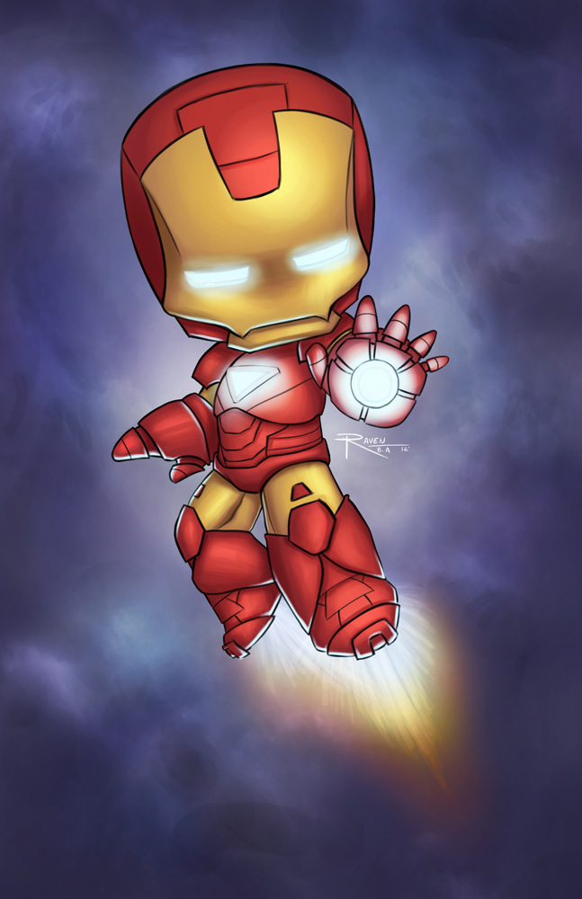 Iron Man Chibi by Raven-B-A on DeviantArt
