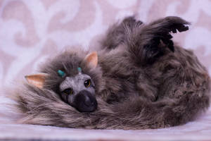 100% handmade Trico (The Last Guardian) by JulyGass