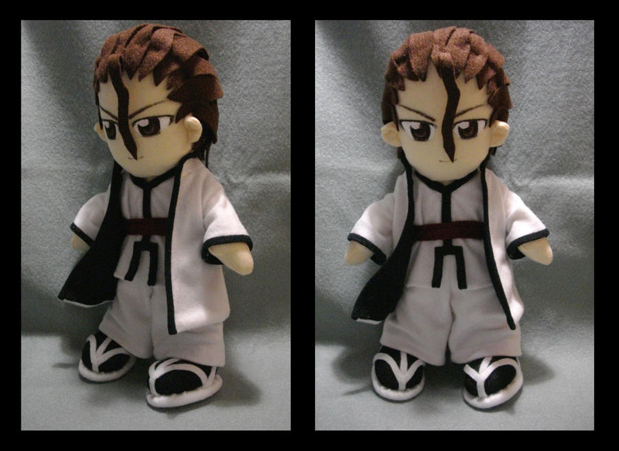 Comm_ Aizen Plushie by renealexa