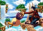 Monkey D Luffy - His World by renealexa
