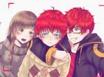Mystic Messenger - Choi Family