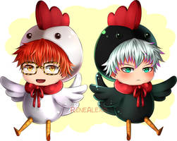 Mystic Messenger - Choi Chickens