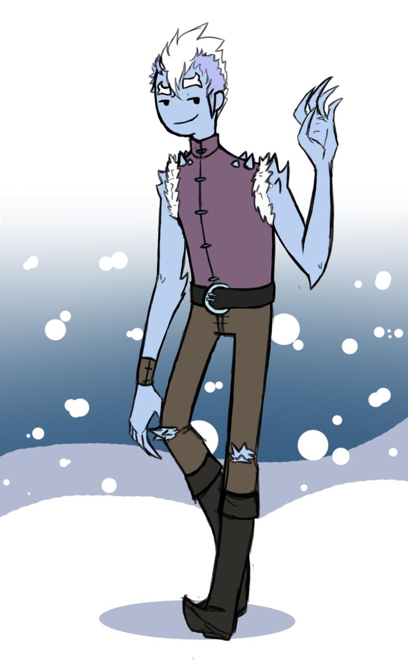 Contest Entry: Jackson The Ice Troll by MissThunderkin