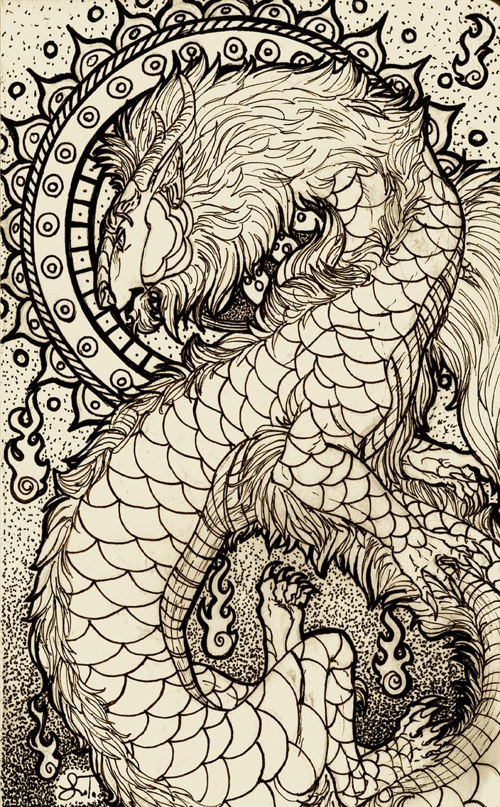 Jian Dragon by MissThunderkin