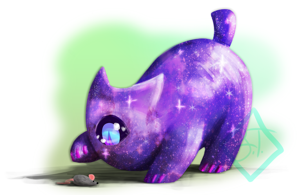 Cadmus and the earth mouse toy thing by MissThunderkin