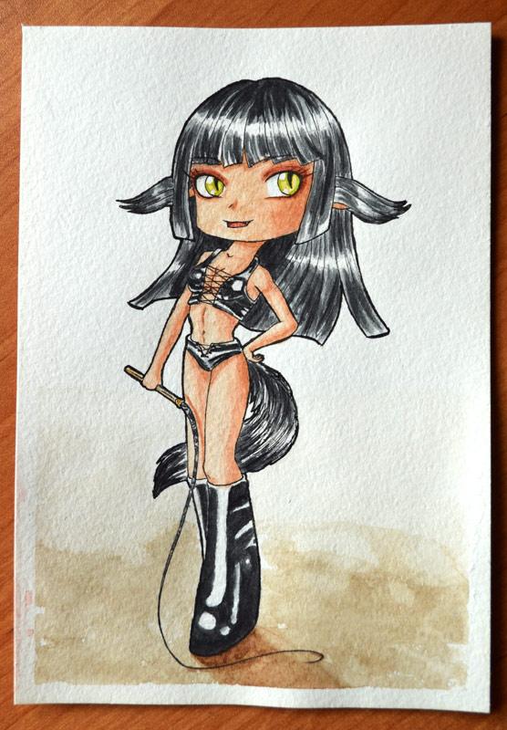 Chibi Madam by Irik77