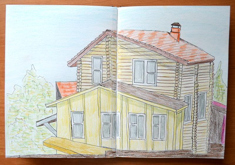 Wooden house by Irik77