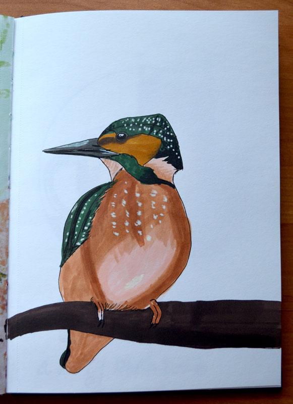 Kingfisher by Irik77
