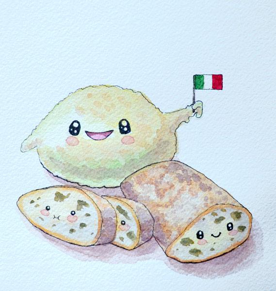 Dough and ciabatta by Irik77