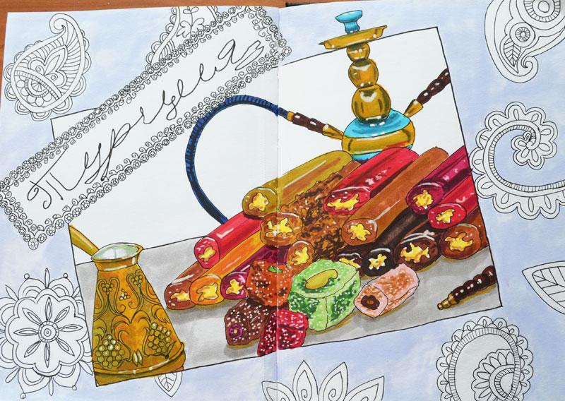 Turkish sweets by Irik77
