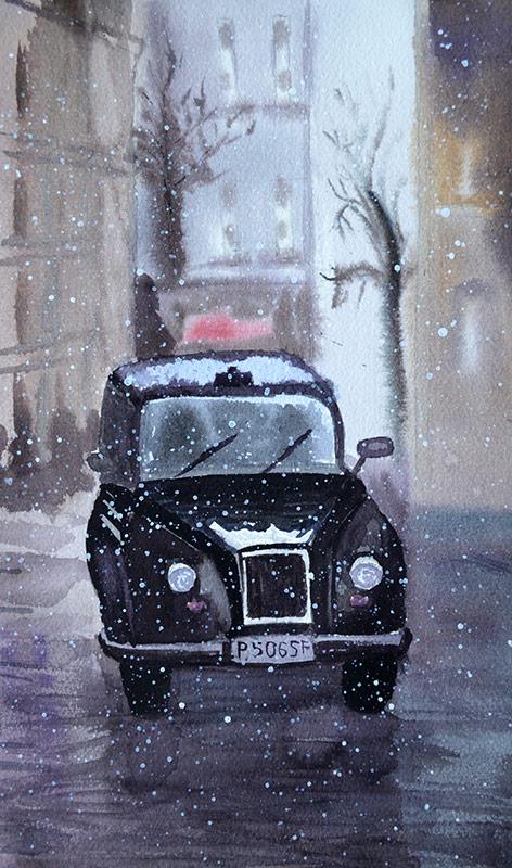Watercolor Sherlock 002 by Irik77