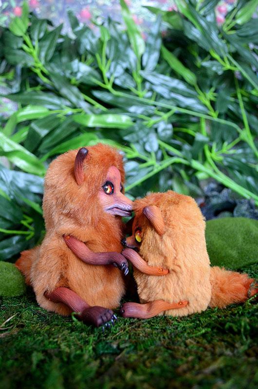 Foxes 002 by Irik77