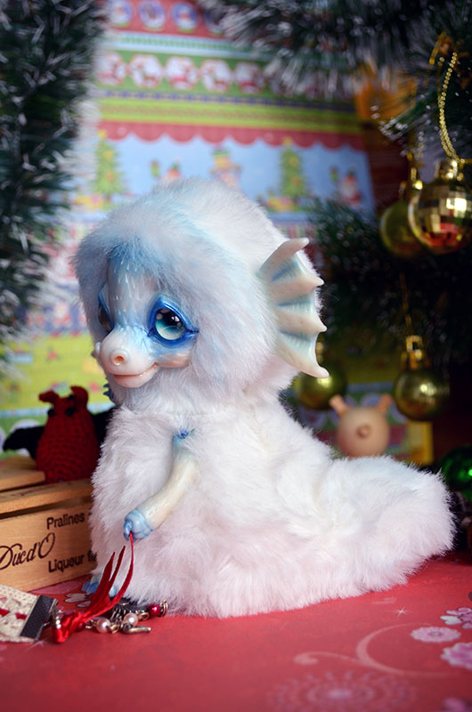 Snow Dragon 002 by Irik77