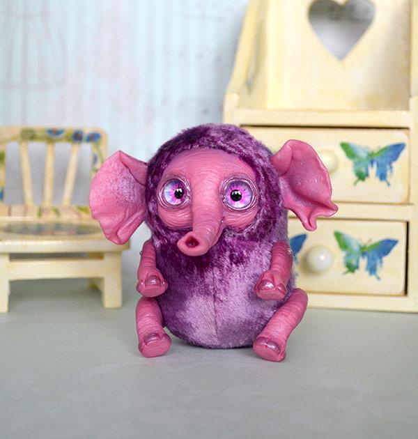 Lilac Elephant 001 by Irik77