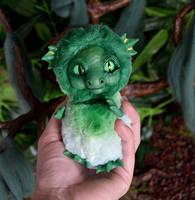 Green Sea Dragon 005 by Irik77