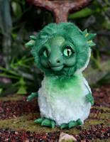 Green Sea Dragon 003 by Irik77