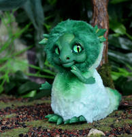 Green Sea Dragon 001 by Irik77