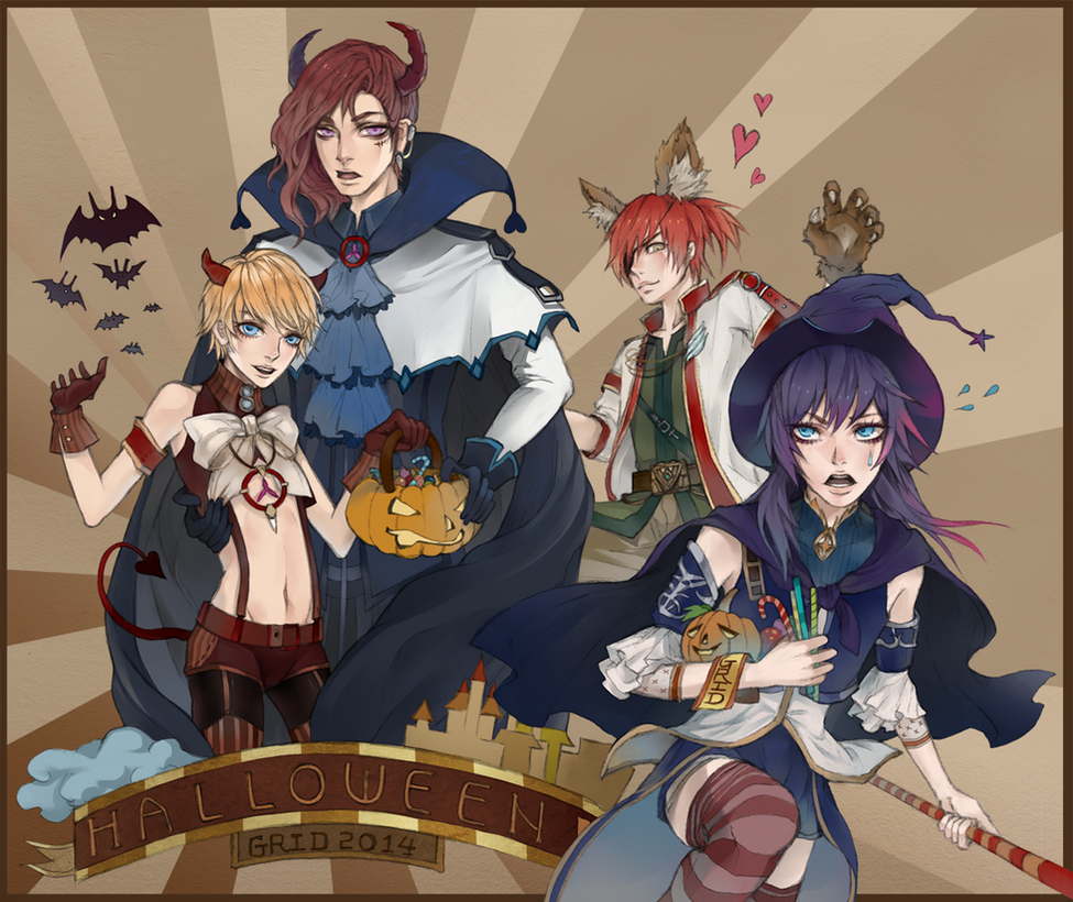 Halloween 2014 - Granado Espada by GRIDyo