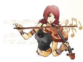 Violin by Fuerst-der-Hoelle616