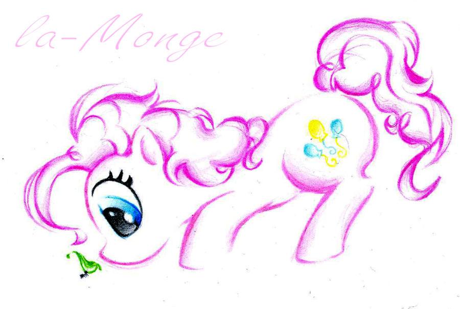Pinkie Pie by la-Monge