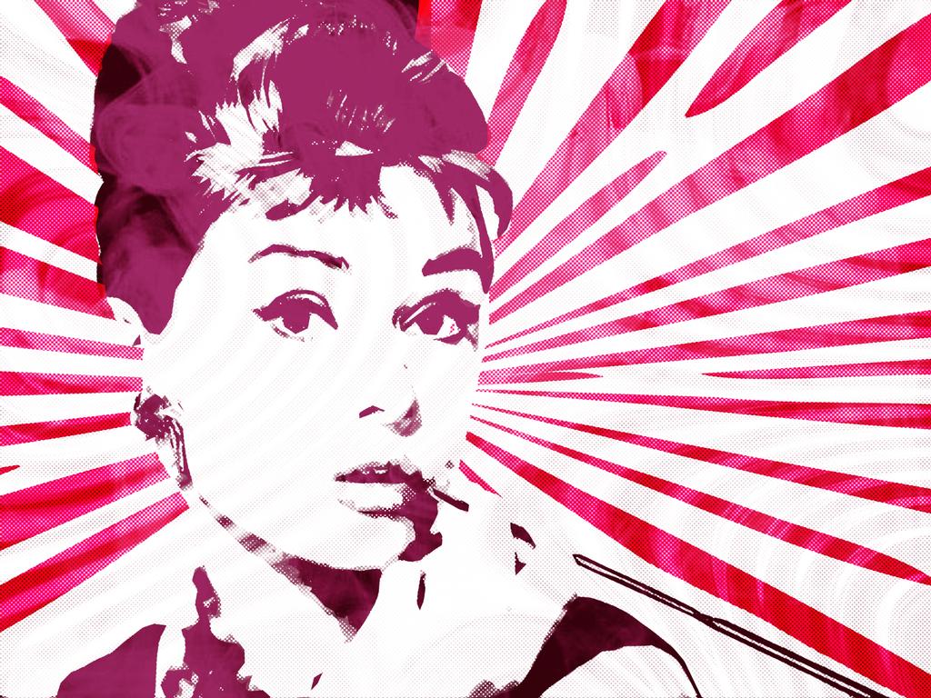 Audrey Hepburn (Breakfast At Tiffanys) Pop Graphic by ashleeeyyy on ...