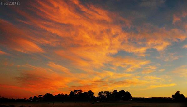 Blazing Sunrise by TaGiRoCkS