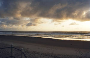 Ocean Sunset IV by mackilvane
