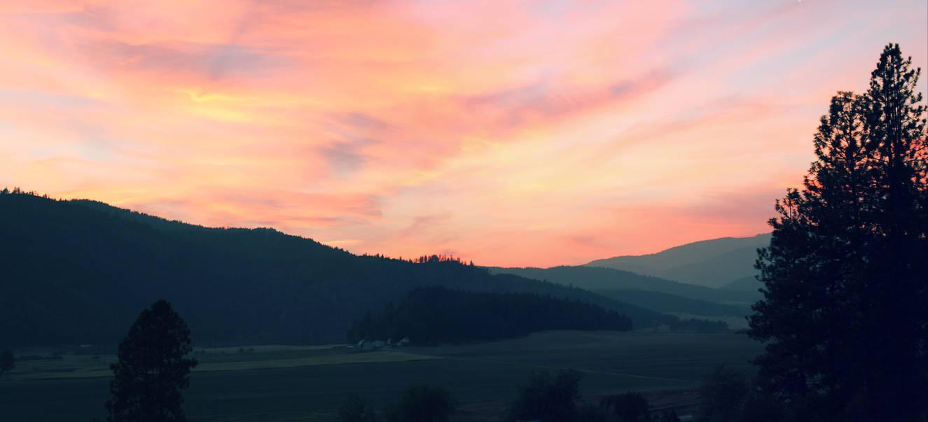 Evening Sky by mackilvane