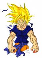 Power of Super Saiyan by Nei-Ning