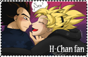 H-Chan fan stamp by VegetasLittleLover
