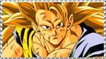 SSJ3 Goku stamp 2 by Nei-Ning