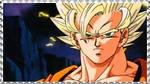 SSJ Goku stamp by Nei-Ning