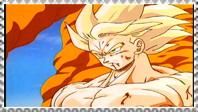 SSJ Goku stamp 2 by VegetasLittleLover