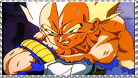 SSJ Vegeta stamp by VegetasLittleLover