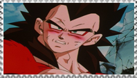 SSJ4 Vegeta stamp by Nei-Ning