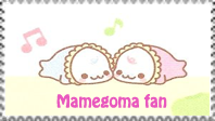 Mamegoma stamp by Nei-Ning